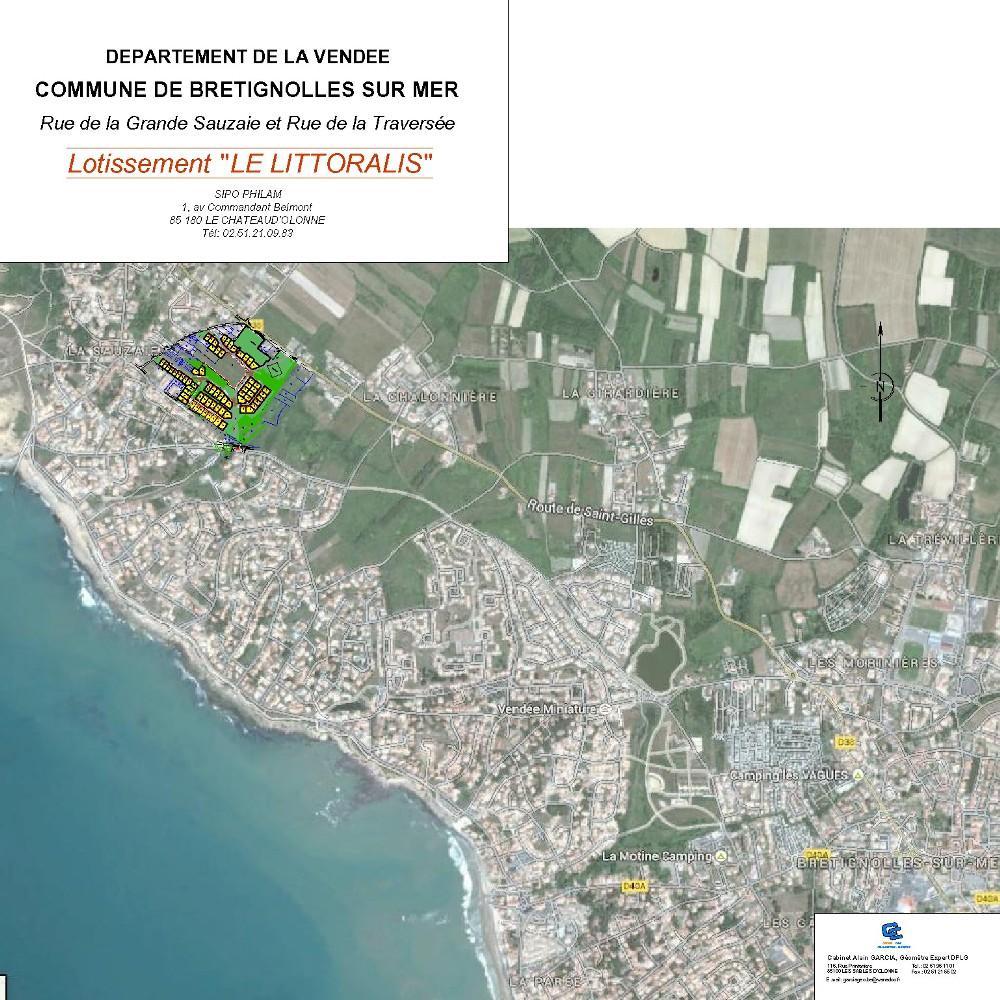 plan de situation Le Littoralis III