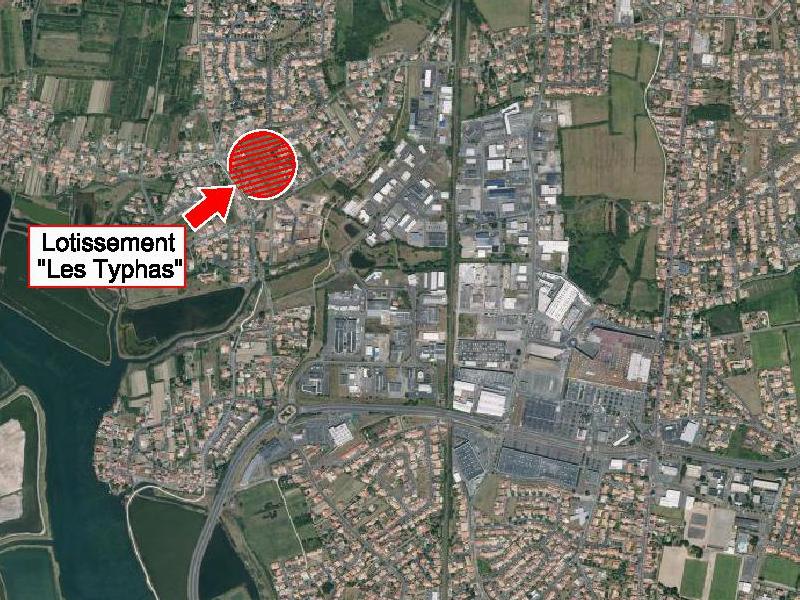 plan de situation Lotissement les Typhas