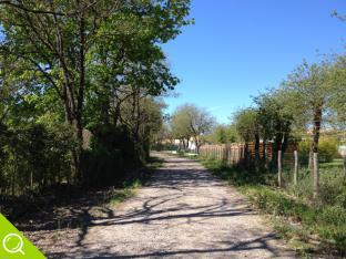 chemin d'accès au lotissement le clos des cupules