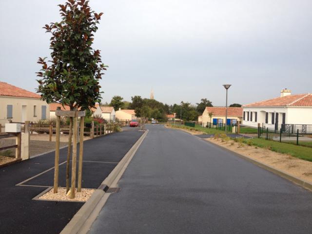 rue du lotissement Les Pieris
